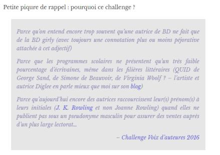 challenge voix